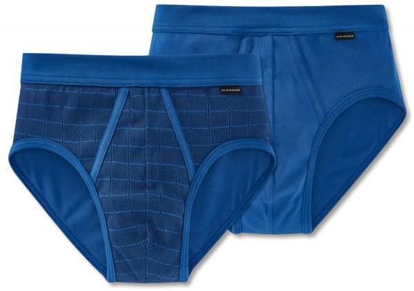 2 Herren Sportslip royal blau