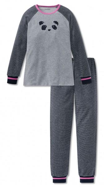 Schiesser Mädchen Zweiteiliger Schlafanzug Anzug lang 167781-202