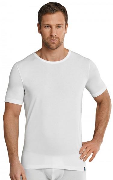 Herren Unterhemd Shirt 1/2 Arm Rundhals 95/5 Cotton-Stretch Schiesser 205430