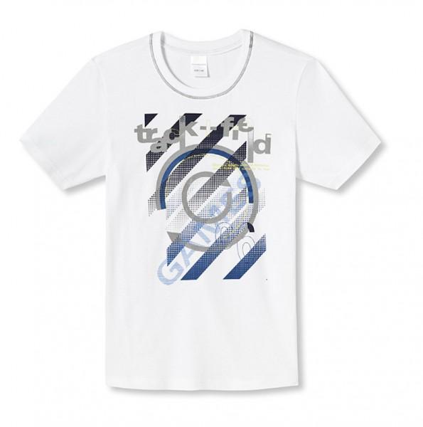 """Jungen T-Shirt """"track + field"""" Schiesser 133047"""