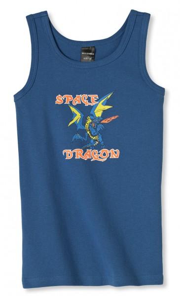 Jungen Unterhemd ohne Arm Space Dragon Schiesser 132483