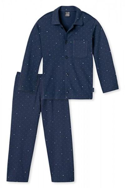 Schiesser Jungen langer Pyjama Schlafanzug Lang - 154485