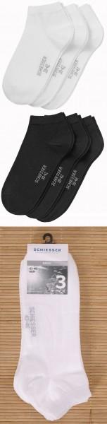 Herren Sneaker Socken 3er Pack Schiesser 158426