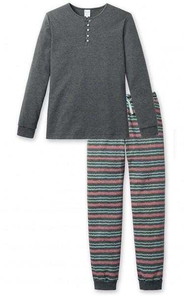 Schiesser Mädchen Schlafanzug Lang