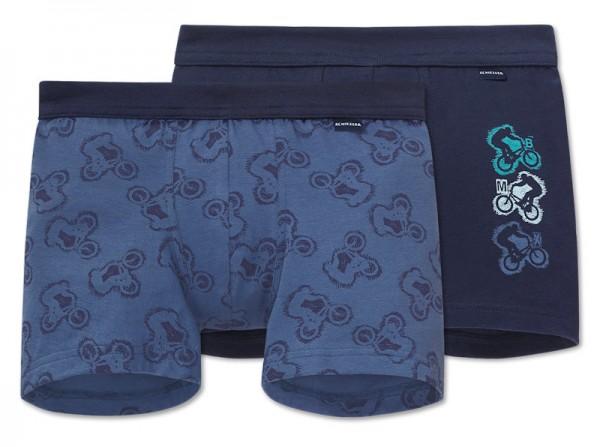 """Jungen Shorts Doppelpack """"BMX"""" Schiesser 153761"""
