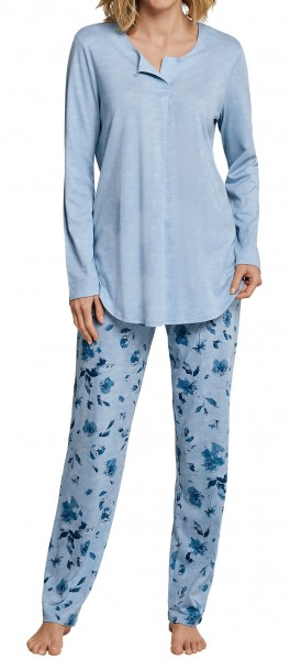 Schiesser Damen Schlafanzug lang 163043-805