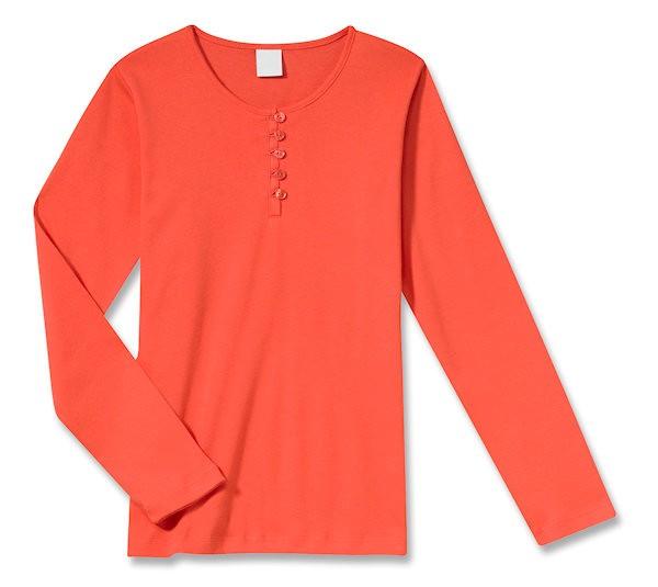 Mädchen Shirt mit langem Arm 1/1 Schiesser 108288