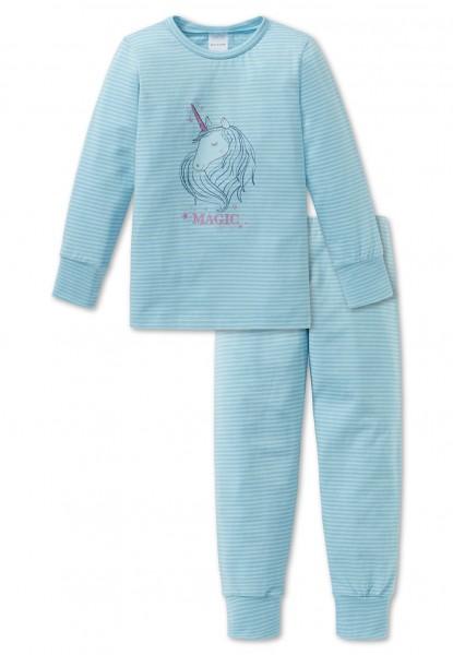 Schiesser Mädchen Schlafanzug lang 163381-807
