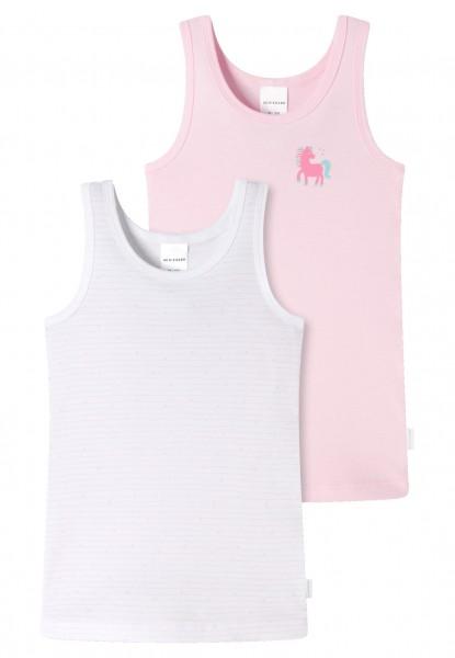 Mädchen Unterhemden 2er-Pack Feinripp Organic Cotton 173257-912