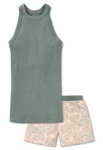 Schiesser Mädchen Zweiteiliger Schlafanzug Anzug kurz 161376-712