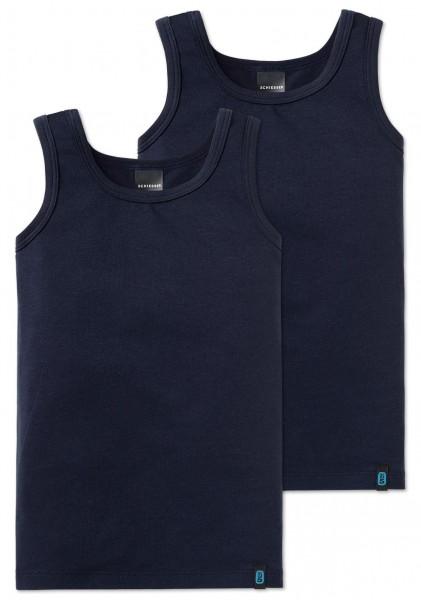 2 Jungen Shirts 95/5 Schiesser 159300