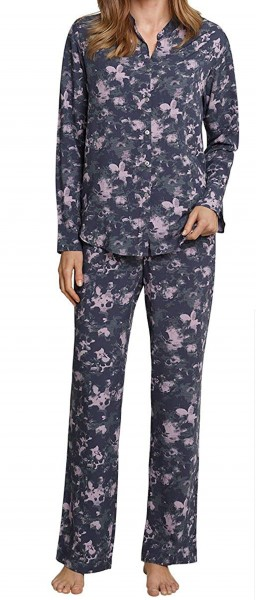 Schiesser Damen Schlafanzug lang 158612-808