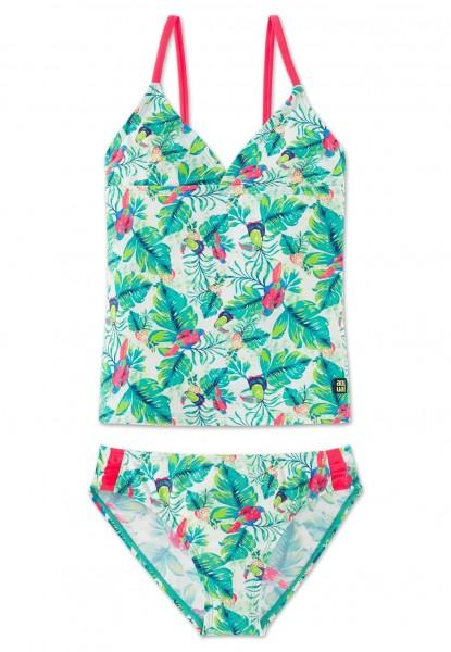 Schiesser Mädchen Bikini Aqua Tankini 156115-700