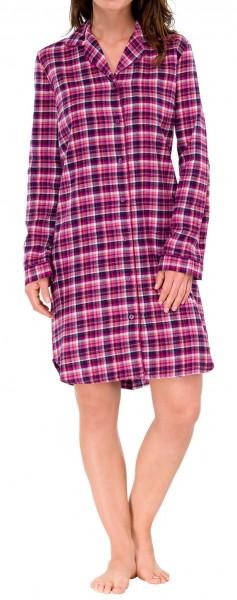 Sleepshirt Webflanell Schiesser 144212