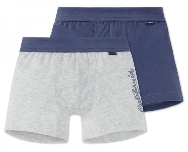 """Jungen Shorts Doppelpack """"California"""" Schiesser 156784"""
