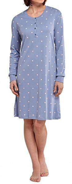 """Sleepshirt 1/1 Arm Modal """"Someday in Winter"""" Schiesser 154040"""