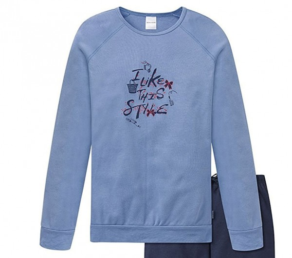 Schiesser Mädchen Zweiteiliger Schlafanzug Anzug Lang 153753