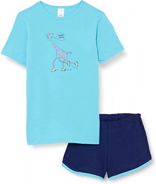 Schiesser Mädchen Schlafanzug kurz Pyjamaset 173276-807
