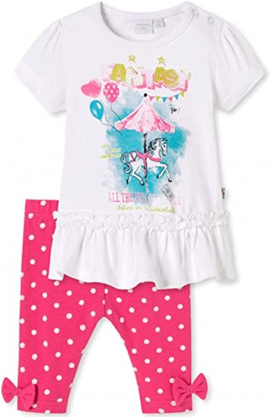 Baby Mädchen Set T-Shirt+ Leggings Schiesser