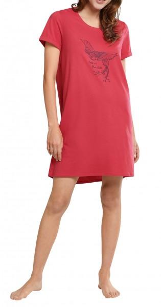 Schiesser Damen Sleepshirt 1/2 Arm Nachthemd fuchsia 174668-508