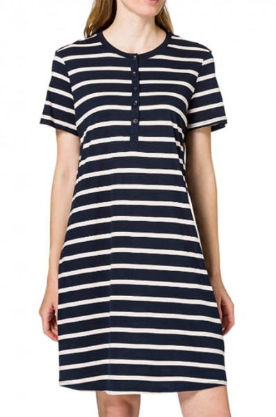 Schiesser Damen Sleepshirt 1/2 Arm Nachthemd, nachtblau 174861-804