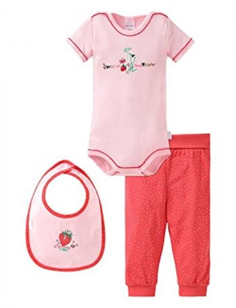 Schiesser Baby-Mädchen Unterwäsche-Set 3er Pack