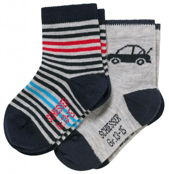 "Jungen Baby Socken ""Cotton Fit"" 2er-Pack Schiesser 158416"