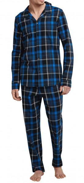 Schiesser Herren Pyjama lang 168401-819