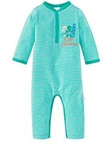 Schiesser Baby-Jungen Einteiliger Schlafanzug Anzug ohne Fuß