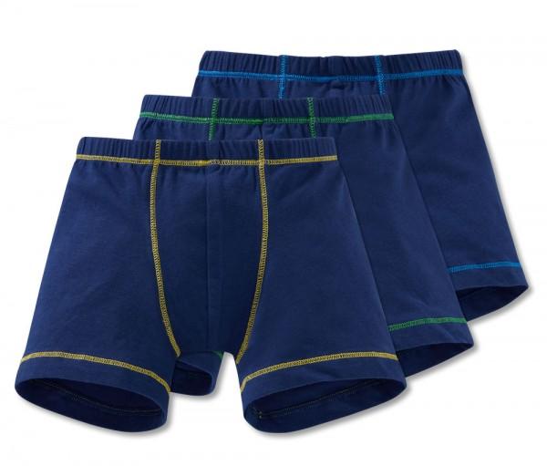 Jungen 3er Pack Shorts Schiesser 168464-901