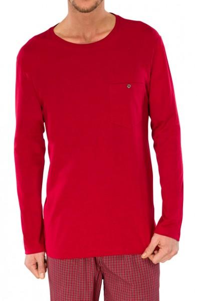 Shirt mit 1/1 Arm rot Schiesser 144733