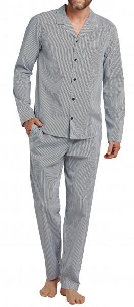 Schiesser Herren Pyjama Lang 166138-803