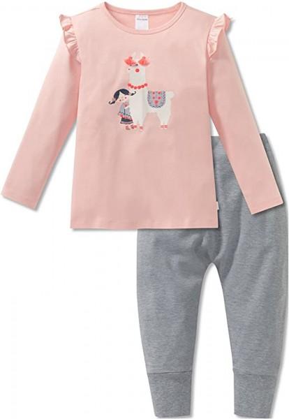 Schiesser Mädchen Schlafanzug lang 163356-603