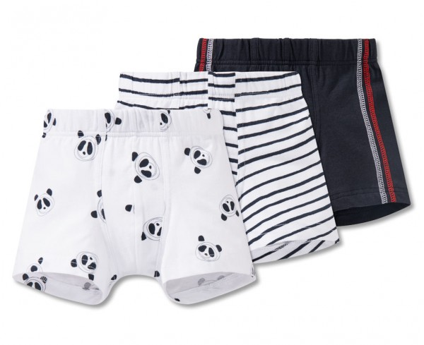 Jungen 3pack Shorties Schiesser 165860-901
