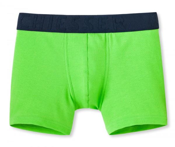 """Jungen Shorts """"Long life cotton"""" grasgrün Schiesser 146000"""