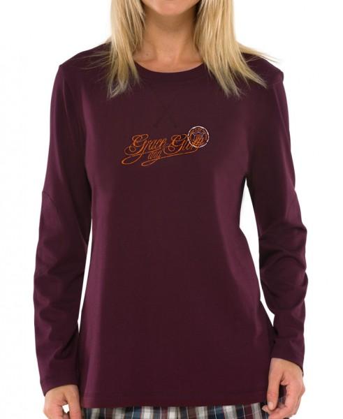 """Damen Shirt mit langem Arm """"Grace and Glory"""" Schiesser 140434"""