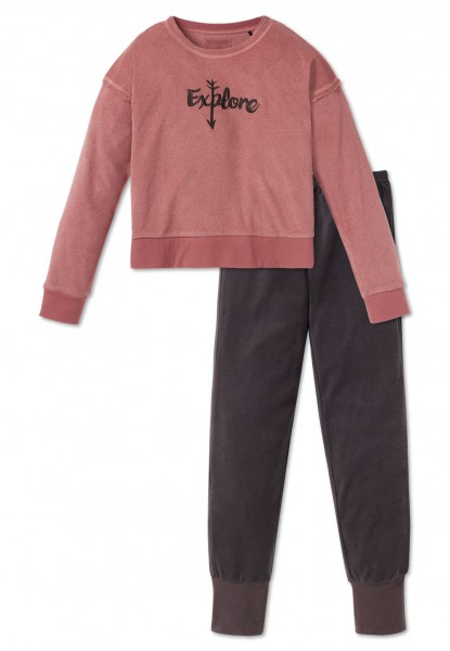 Schiesser Mädchen Zweiteiliger Schlafanzug Anzug lang 163264-305
