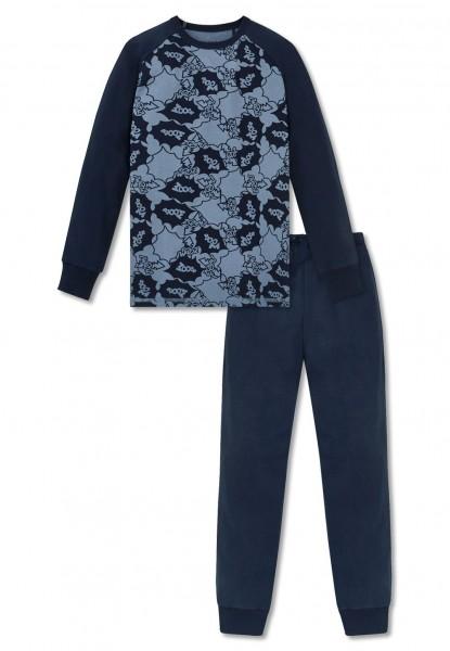 Schiesser Jungen Zweiteiliger Schlafanzug Anzug Lang 160482-804