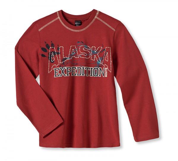 Jungen Shirt Langarm 1/1 Alaska Expidition Schiesser 131970