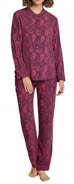 Schiesser Damen Pyjama lang 163033-530