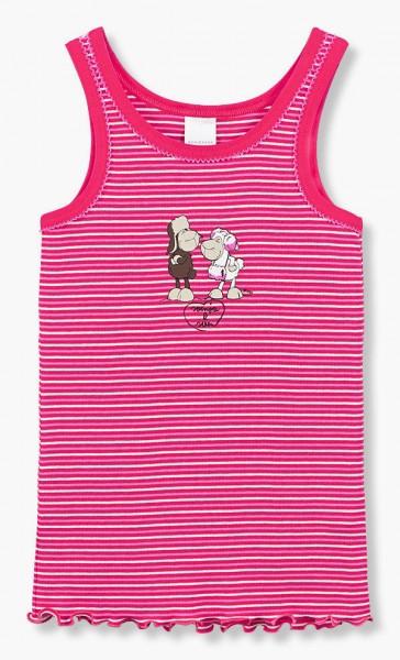 Mädchen Unterhemd Hemd ohne Arm 0/0 Svenja und Sven Schiesser 129889