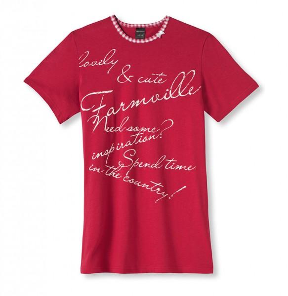 """Mädchen Schlaf Shirt Big-Shirt """"Need some Inspiration"""" halber Arm 0/0 Schiesser 133259"""