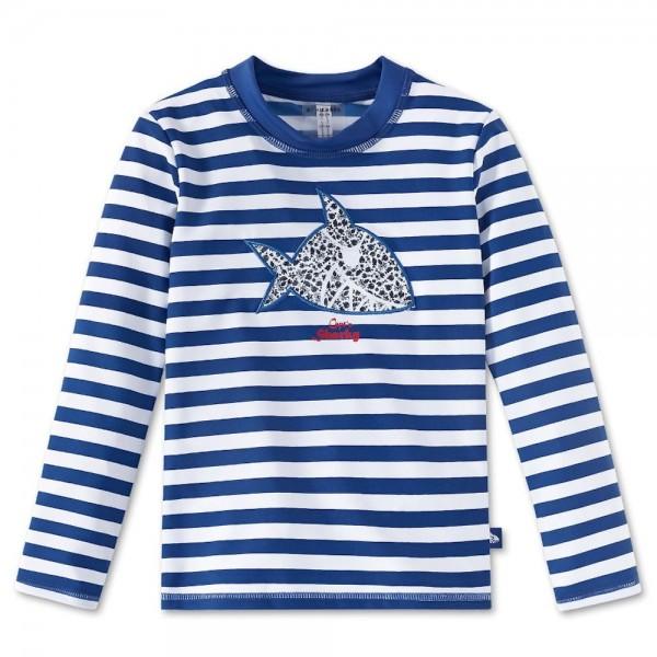 Schiesser Jungen Bade-Shirt Aqua Capt´N Sharky Bade-Shirt 155855-801