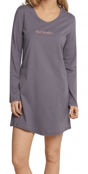 Schiesser Damen Nachthemd 1/1 Arm, 85cm 158558-303