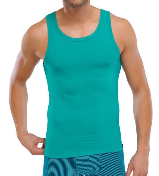 Shirt ohne Arm grün Schiesser 146763