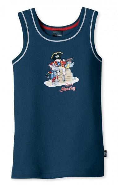 """Jungen Unterhemd ohne Arm 0/0 Capt""""n Sharky Schiesser 136506"""