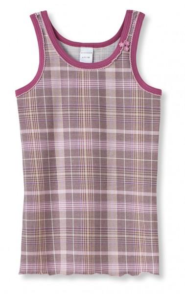 """Mädchen Unterhemd Hemd ohne Arm 0/0 """"Flower"""" Schiesser 135674"""