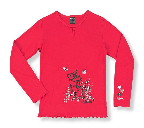 Mädchen Shirt langer Arm 1/1 Rebella Schiesser 129969