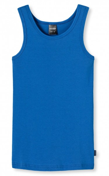 Tank Top Long-life-cotton atlantikblau Schiesser 145985