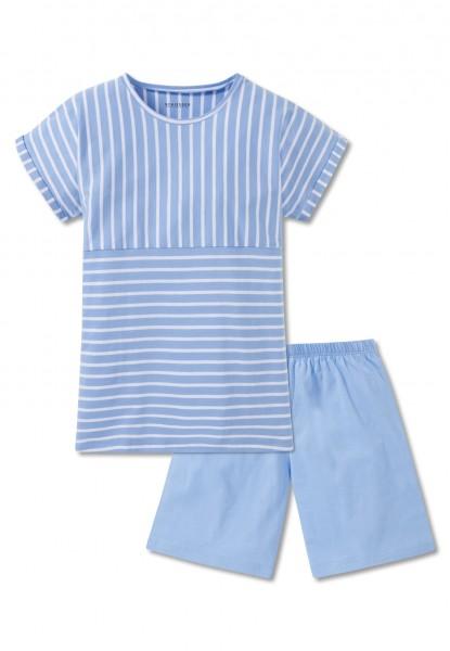 Schiesser Mädchen Zweiteiliger Schlafanzug Anzug kurz 166066-805